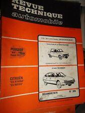 Citroën CX ATHENA REFLEX  : revue technique RTA 395