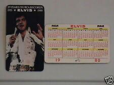 1980 Elvis Wallet Calendar Near Mint/Mint Cond.