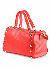 Deux Lux Handbag - Empire State Small Duffel in Coral-NWT-RP $170