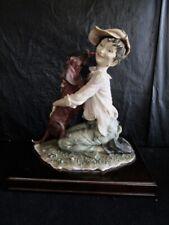 """Capodimonte - Giuseppe Armani Figurine - """"Puppy Love"""""""