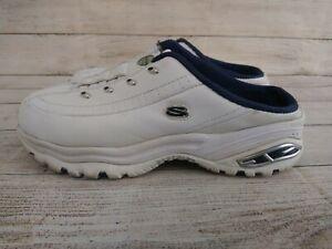 Skechers Premium Sport Y2K White Slip On Shoes Comfortable Womens Size 9