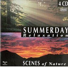 Summerday Relaxation-Scenes of Nature Liquid Gold, Anita Ward, Kelly Ma.. [4 CD]