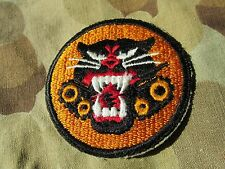 WW 2 US ARMY MILITARY Tank Destroyer Patch SSI INSIGNIA Armored Division