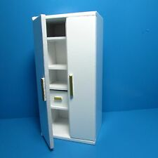 Dollhouse Miniature Kitchen Side by Side Refrigerator Freezer ~ T5268