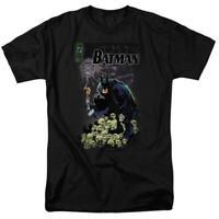 Batman t-shirt DC Comic book Superhero skulls graphic cotton tee BM1843