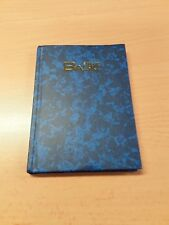 Hardback Notebook Lined Size A6, New, 96 Pages,Writing,Pen,Pad,Sheets,Word,Blue