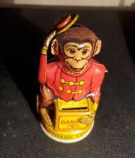 Antique Monkey Bank, Mechanical, Completely Original, J Chien & Co. It Works!