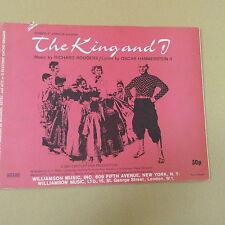 Órgano todo el rey y yo, Rodgers Hammerstein, para Magnus, Estey, C o G Cuerda