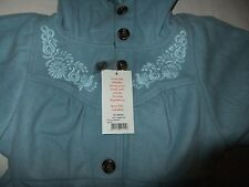 Blutsgeschwister  wow peggy coat arty blue  Size XS    RRP $355