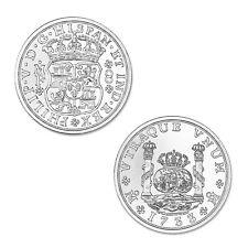 Pillar Dollar piece of eight Silver Shilling colonial coinage 2 oz .999 silver