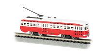 N-Gauge - Bachmann #62994- St. Louis Railways Trolley - 8 Wheel Drive new in box