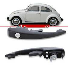 VW BUG BEETLE DOOR BLACK HANDLE OUTER FRONT WITH KEYS VOLKSWAGEN TYPE1 1968-1977