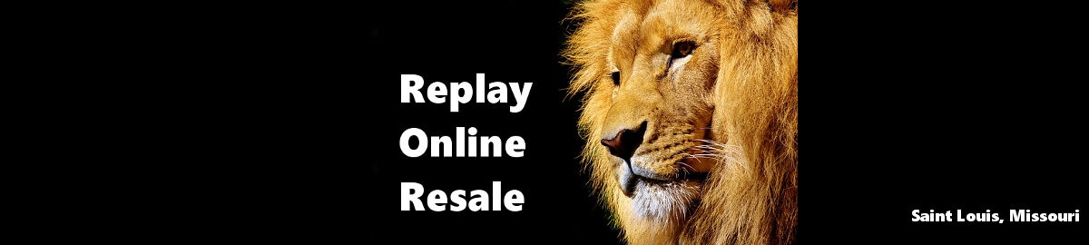 Replay Online Resale