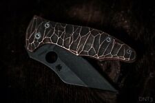 Spyderco Yojimbo 2 copper Scale stone look