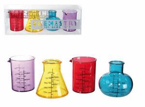 Chemistry Set Shooter Glasses - Shot Glass Set - Party Christmas Secret Gift