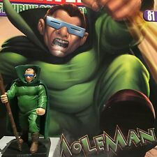 Classic Marvel Figurine Collection THE MOLEMAN issue 81  VERY RARE SALE!!!