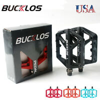 Bocklos MTB Road Bike Bicycle Bearing Widen Pedals Nylon Platform Pedals a Pair