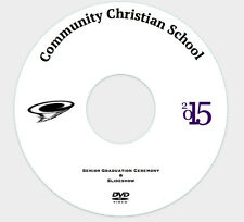 Custom Printed and Duplication DVD-R 4.7GB ~FULL COLOR~ Weddings, Graduations