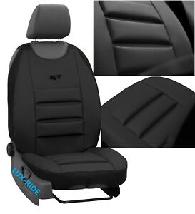 - Premium Van Seat Covers Single Drivers And Double Passengers Seat Covers Black And Blue Piping HMS FOR FORD TRANSIT 1 2 MK8