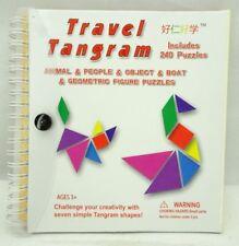 Travel Tangram Puzzles Book Game Tangrams Jigsaw Shapes T2
