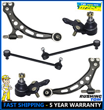 New 6 pc For Toyota Lexus 2 Lower Control Arms 2 Ball Joints 2 Sway Bar Links