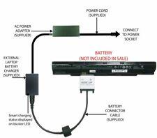External Laptop Battery Charger for Clevo N240BU N240JU N250LU N250JU, N240BAT-4
