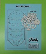 1975 Bally Blue Chip pinball / bingo rubber ring kit