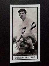 RAITH ROVERS - GORDON WALLACE - Memory Lane UK football trade card