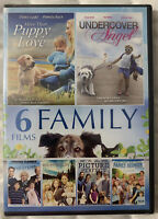 6 Famiy Films DVD Childrens Family Comedy Romance Dogs Inspirational New Sealed