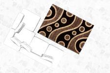 Abstrakte Wohnraum-Teppiche im Hochflor -/Shaggy -/Flokati-Stil aus Polypropylen