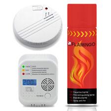 Wohnmobil Gaswarner Sicherheitsset inkl. Feuerlöschspray & Rauchmelder Wohnwagen