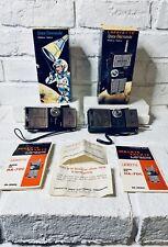 Lafayette Space Commander Walkie-Talkie Original Boxes, Instructions, Warranties