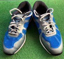 Nike Lunarlon Ascend Hyperfuse Golf Shoes men's sz 7.5 Blue/Grey-483841-400