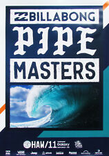 Official 2016 Pipe Masters Hawaii Surfing Contest Event New Andy Irons Poster