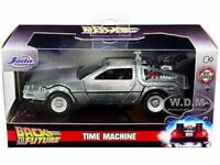 DeLorean Time Machine Back to the Future Hollywood Rides Diecast Model 1/32