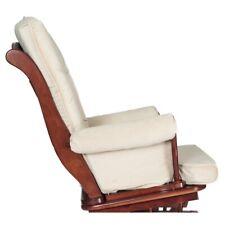 AFG Baby Furniture Sleigh Glider Chair Cushions in Beige