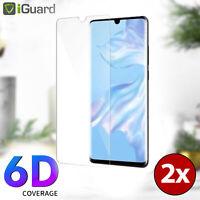2x Schutzglas für Huawei P30 Lite Glas Folie Echt Glas 9H Schutzfolie Echtglas
