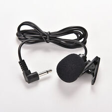3.5mm Mini Studio Speech Microphone Mic Clip On Lapel for PC Desktop Notebook TO