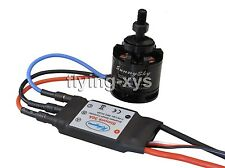Sunnysky X2212-13 980KV Brushless Motor & SimonK 30A ESC for Multicopter Quad-X