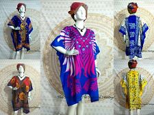 5 Wholesale Lot New Tunic Kaftan Short Maxi Beach-Wear Boho Summer Dress-Abaya