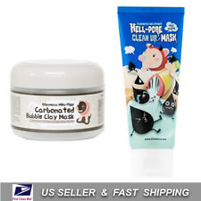 [ ELIZAVECCA ] Carbonated Bubble Clay Mask + Hell-Pore Clean Up Mask + Sample