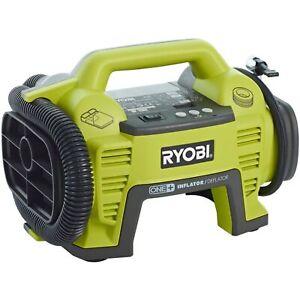 Ryobi Akku-Kompressor R18I-0, 18Volt, Luftpumpe, grün