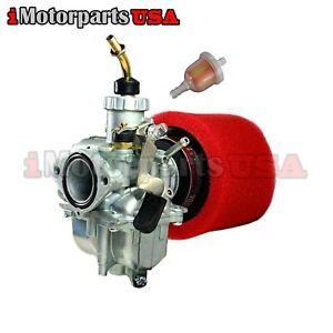 MIKUNI VM22 26MM CARBURETOR W/ 2 STAGE AIR FILTER SSR LIFAN SDG 110 125CC 140CC