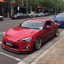 GT Front Bumper Lip Spoiler Urethane Toyota 86 2012-2016 PU