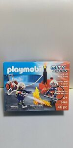 Playmobile 9468 City Action Firefighters With Water Pump - New in box