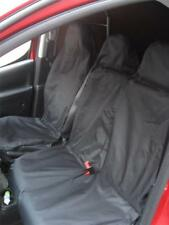 UNIVERSAL HEAVY DUTY FRONT VAN SEAT COVERS Black Waterproof