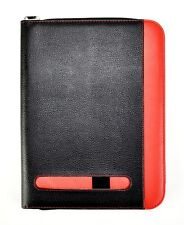 A4 Black & Red  Conference Folder Portfolio With Calculator & Pad -CL-201
