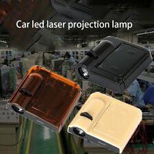 Black LED Car Door Wireless Projection Lamp Laser Automotive Logo Shadow Light H