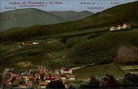 Jungholz Jungholtz Elsass bunte AK ~1910 mit Thierenbach und St. Anna Panorama