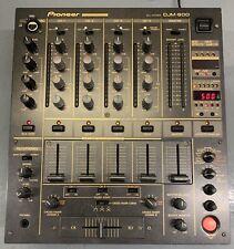 PIONEER DJM 600 DJM-600 Black Professional DJ MIXER DECK 4 Channel #1 DJM600
